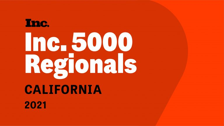 Celebrating Two Years on Inc. 5000's List of Fastest-Growing California Companies
